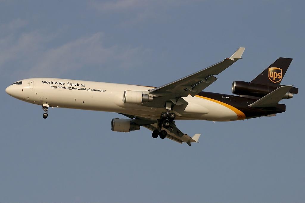 Noticias de aerolíneas. Noticias de aviones. Noticias de aeropuertos. MD11 de la aerolínea UPS