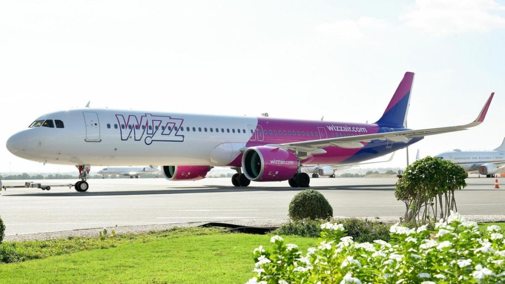 Noticias de aerolíneas. Noticias de aeropuertos. Avión de la compañía húngara Wizzair