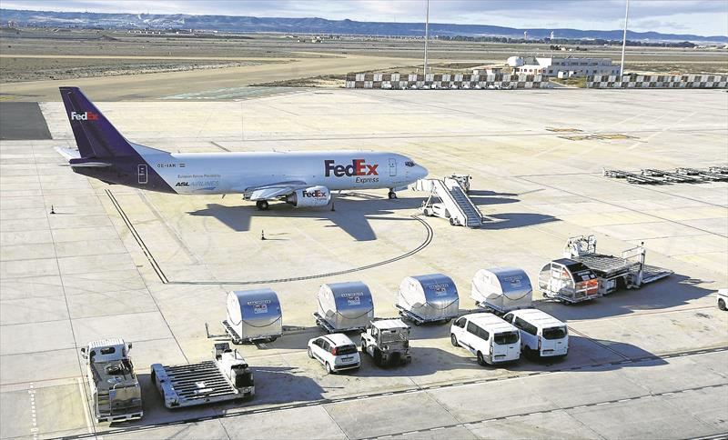 Noticias de aerolíneas. Noticias de aviones. Noticias de aeropuertos. Aeropuerto de Zaragoza