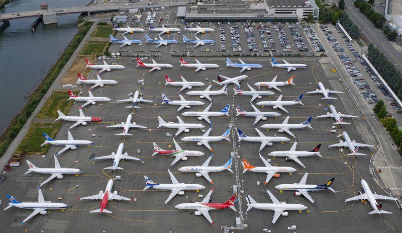 Noticias de aviones. Noticias de aerolíneas. Boeing 737MAX retirados de servicio temporalmente