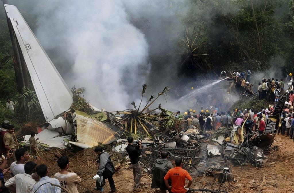 Noticias de aviones. Noticias de aviación. Accidente en India