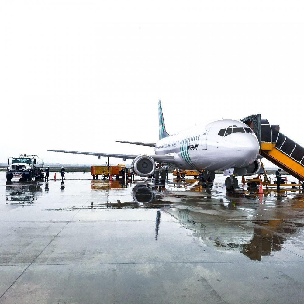 Noticias de aerolíneas. Noticias de compañías aéreas. Avión de la aerolínea danesa Airseven
