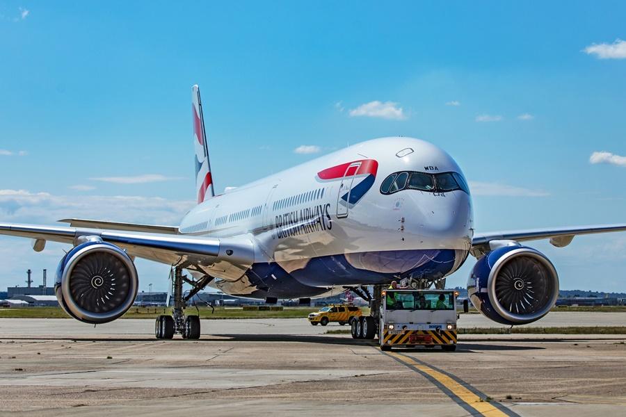 Noticias de aerolíneas. Noticias de aviones. Airbus A350 de British Airways