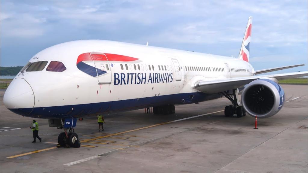 Noticias de aerolíneas. Noticias de compañías aéreas. Boeing 787 de British Airways