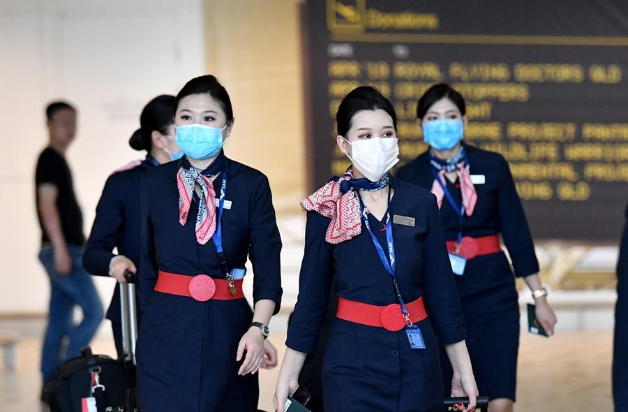 Noticias de compañías aéreas. Noticias de aerolíneas. Tripulantes de cabina de aerolíneas chinas