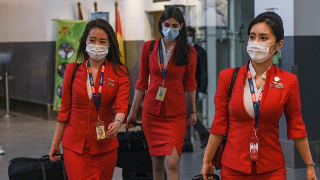 Noticias de aerolíneas. Noticias de compañías aéreas. Tripulantes de cabina chinas