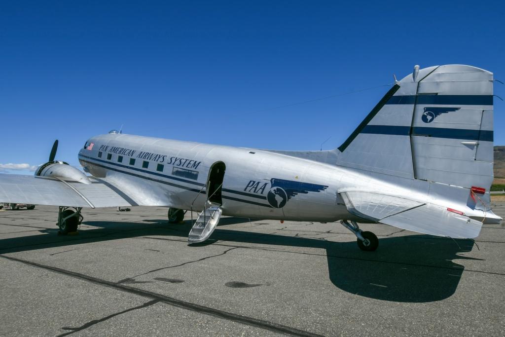 Noticias de aviones. Noticias de aerolíneas. Avión modelo DC-3 de Pan Am