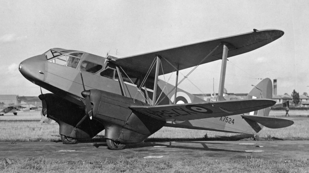 Noticias de aviones. Noticias de aviación. Dragon Rapide.