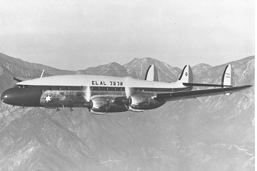 Noticias de aviación. Noticias de aviones. Primer avión de la aerolínea israelí El Al