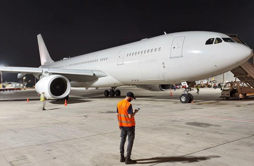 Noticias de aerolíneas. Noticias de compañías aéreas. Avión de Etihad en Israel