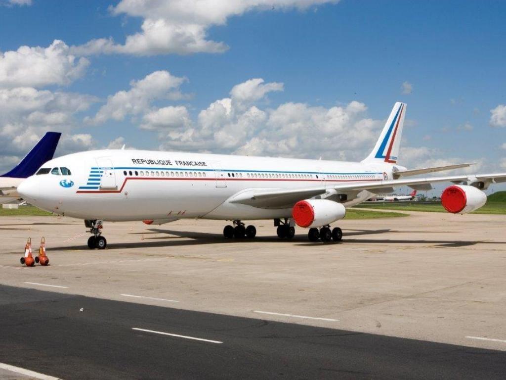 Noticias de aviones. Noticias de aviación. Airbus A340 subastados por Francia