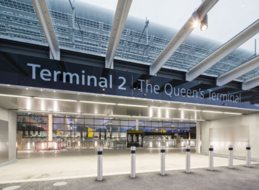 Noticias de aeropuertos. Acceso a terminal en aeropuerto de Heathrow