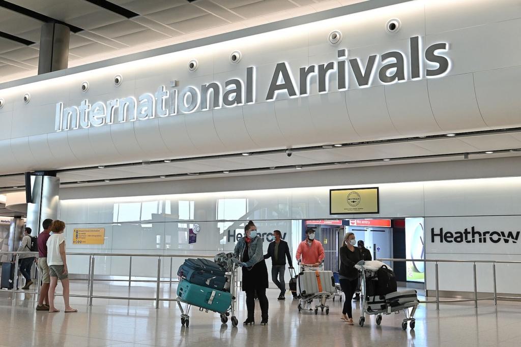 Noticias de turismo. Noticias de aviones. Aeropuerto de Heathrow en Londres.