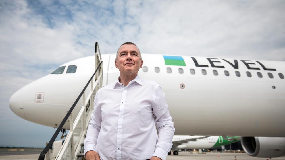 Noticias de aerolíneas. Noticias de compañías aéreas. Avión de Level Europe