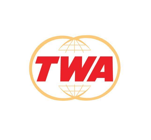 Noticias de aerolíneas. Noticias de compañías aéreas. Logo de TWA versión de 1962