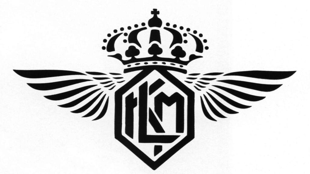 Noticias de aerolíneas. Noticias de compañías aéreas. Logo de KLM en su versión de 1919