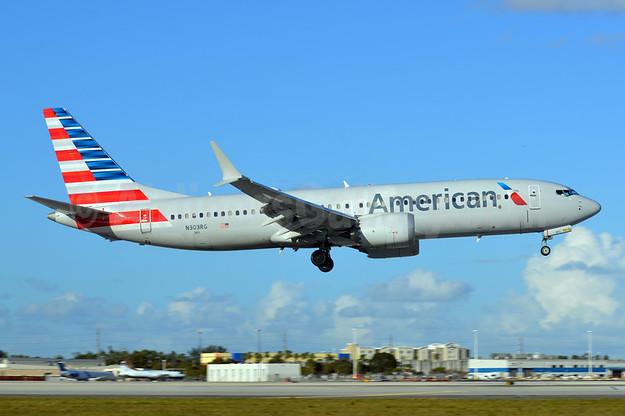 Noticias de aviones. Noticias de aviación. Boeing 737MAX de American Airlines.