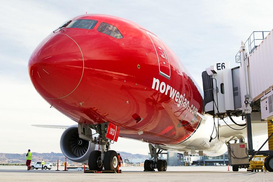 Noticias de aerolíneas. Noticias de aviones. Boeing 787 de Norwegian