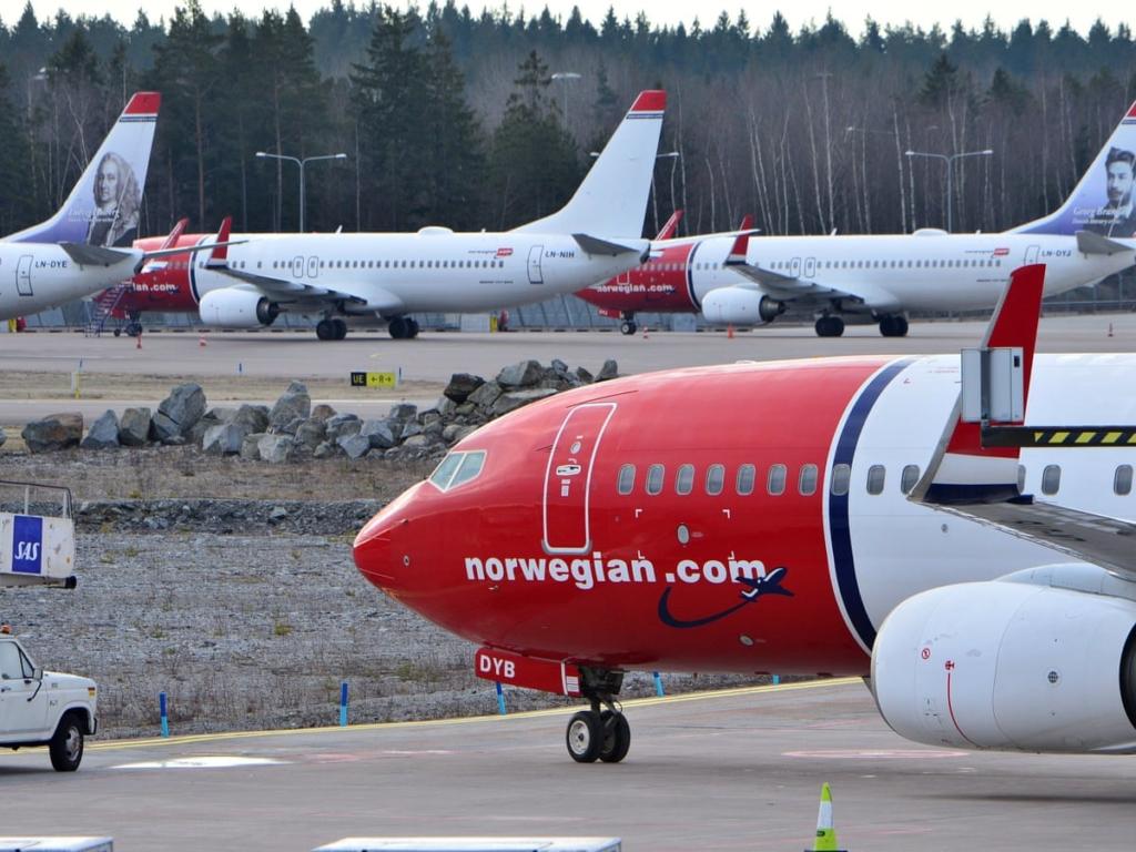 Noticias de aerolíneas. Noticias de aviones. Aviones de la aerolínea Norwegian