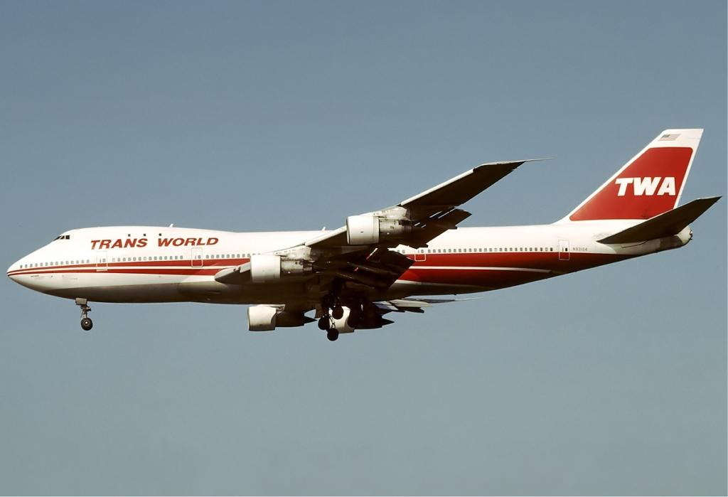 Noticias de aerolíneas. Noticias de compañías aéreas. Boeing 747 de TWA