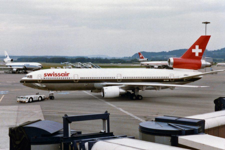 Noticias de aerolíneas. Noticias de compañías aéreas. Avión de Swissair
