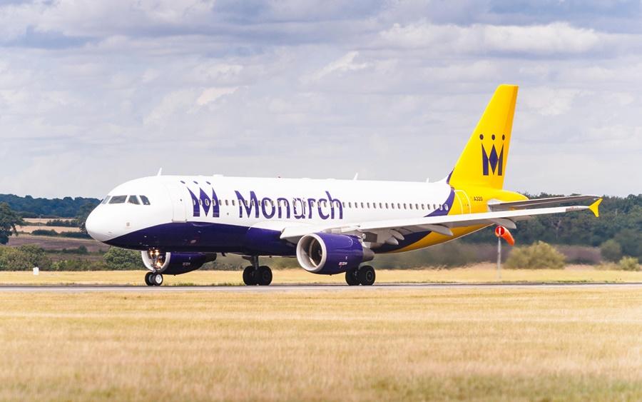 Noticias de aerolíneas. Noticias de compañías aéreas. Airbus A320 de Monarch Airlines