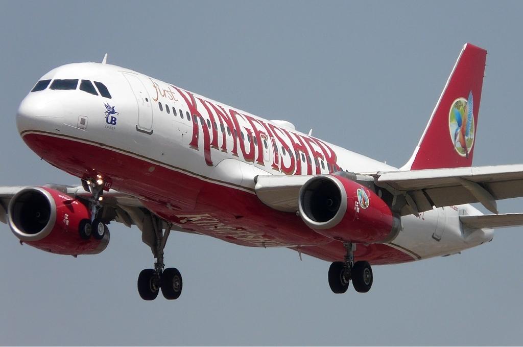 Noticias de aerolíneas. Noticias de compañías aéreas. Avión de la aerolínea india Kingfisher