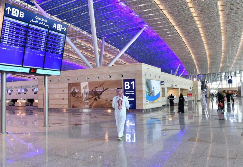 Noticias de turismo. Noticias de aviones. Aeropuerto de Arabia Saudí.