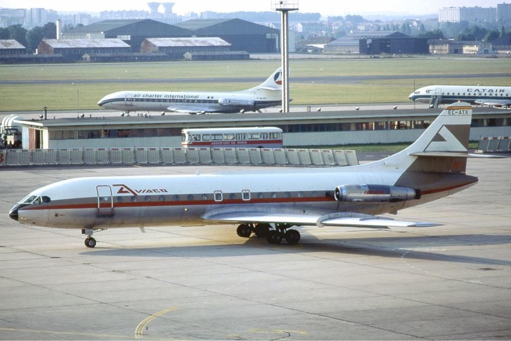 Noticias de aviones. Noticias de aviación. Sud Aviation Caravelle