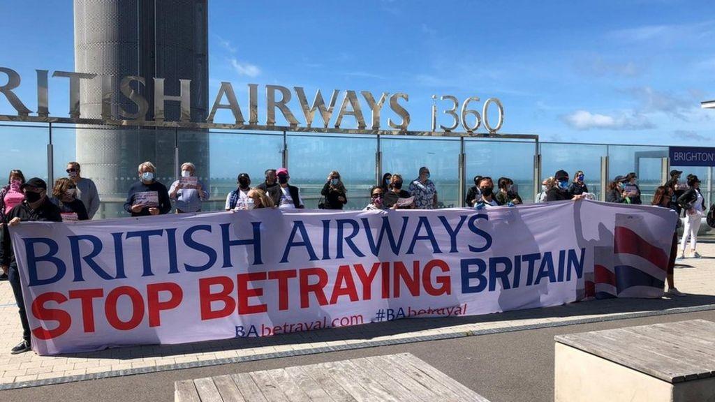 Noticias de aerolíneas. Noticias de compañías aéreas. Protestas de los sindicatos de British Airways
