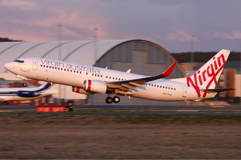 Noticias de aerolíneas. Noticias de compañías aéreas. Avión de Virgin Australia
