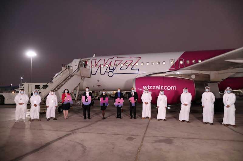 Noticias de aerolíneas. Noticias de compañías aéreas. Airbus A321neo de Wizzair Abu Dhabi