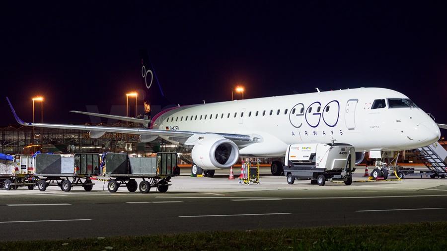 Noticias de aerolíneas. Noticias de compañías aéreas. Embraer de EGO Airways