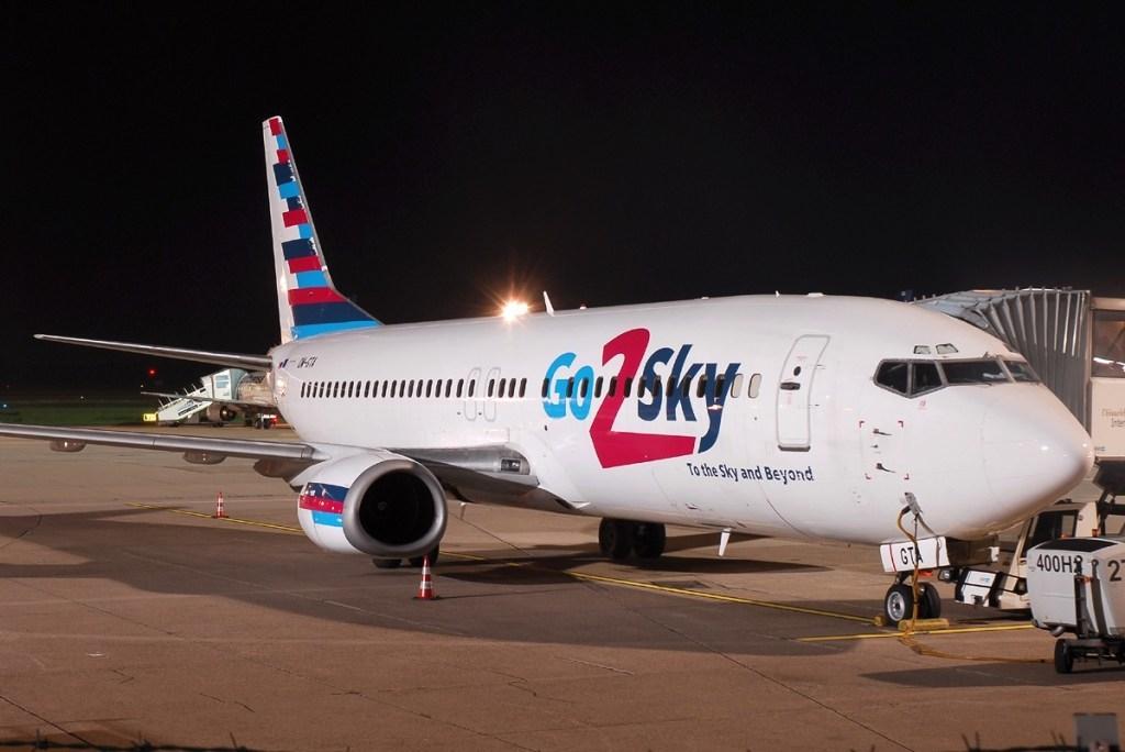 Noticias de aerolíneas. Noticias de compañías aéreas. Avión de la eslovaca Go2Sky