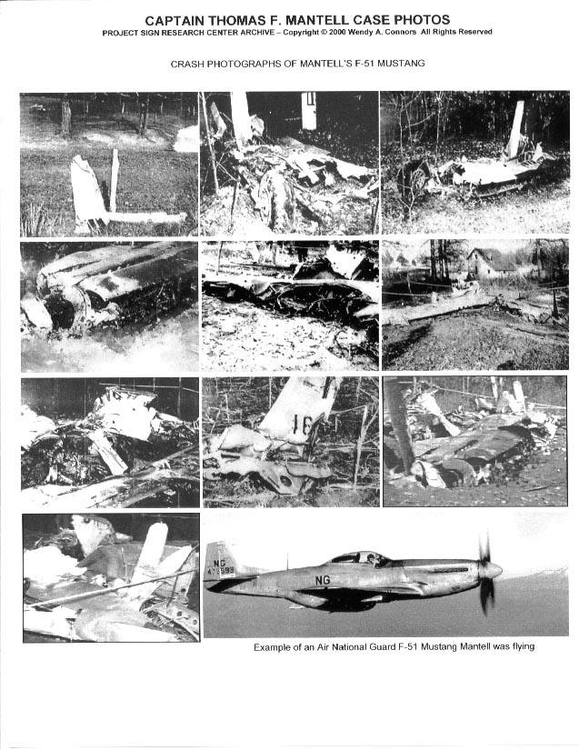 Noticias de aviones. Noticias de aviación. Reportaje del accidente de Thomas Mantell