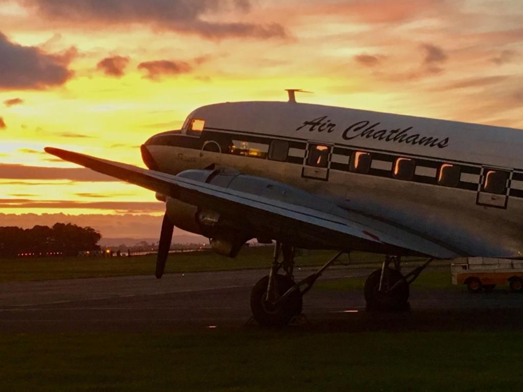 Noticias de compañías aéreas. Noticias de aviación. DC-3 de Air Chathams