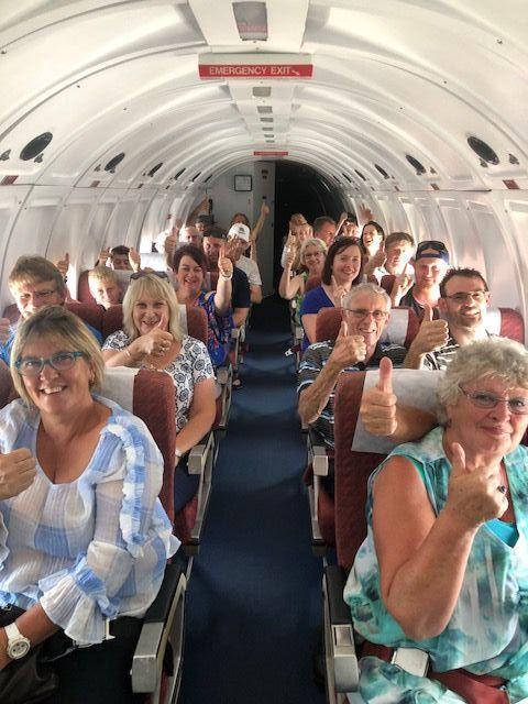 Noticias de compañías aéreas. Noticias de aviación. Interior de la cabina DC-3 de Air Chathams