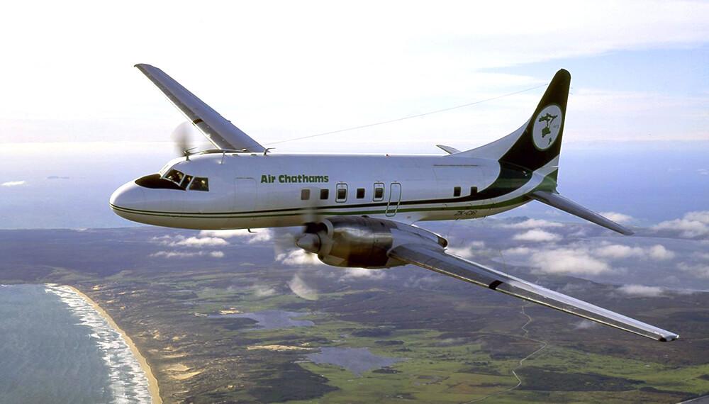 Noticias de aerolíneas. Noticias de aviación. Convair de Air Chathams