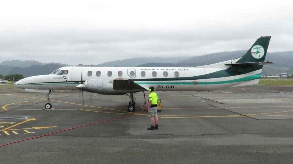 Noticias de aerolíneas. Noticias de aviones. Fairchild Metroliner de Air Chathams