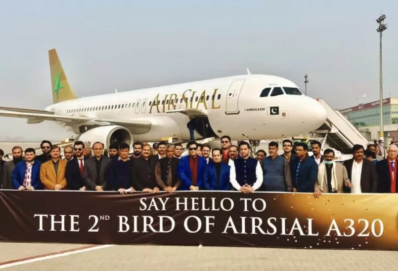 Noticias de aerolíneas. Noticias de compañías aéreas. Entrega del segundo A320 a Air Sial