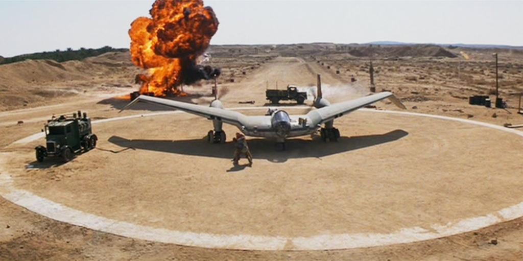 Noticias de aviones. Noticias de aviación. Modelo ficticio construido para la película de Indiana Jones