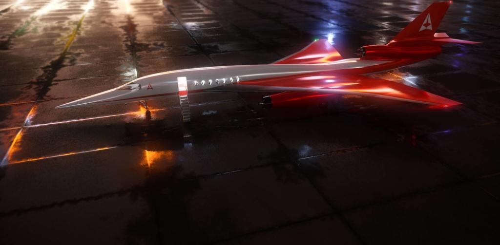Noticias de aviones. Noticias de aviación. Nuevo avión supersónico AS2