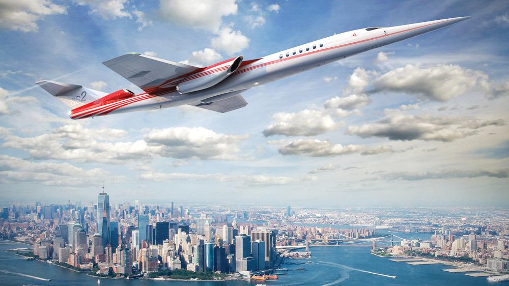 Noticias de aviones. Noticias de aviación. Nuevo AS2, avión supersónico de Aerian