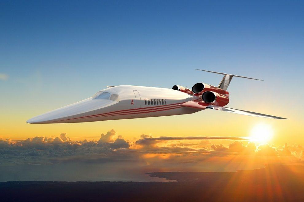 Noticias de aviones. Noticias de aviación. AS2, nuevo avión supersónico