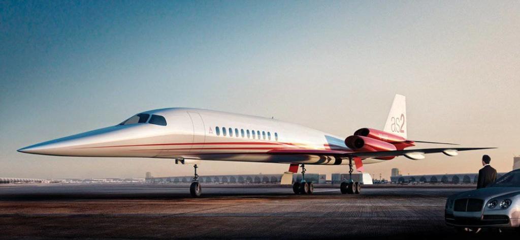 Noticias de aviones. Noticias de aviación. Prototipo de avión supersónico AS2