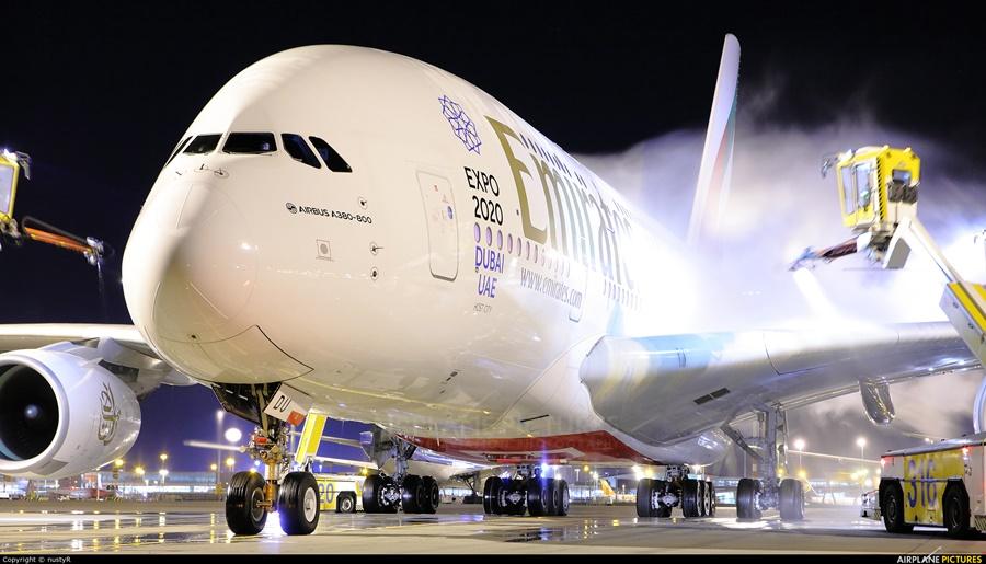 Noticias de aeropuertos. Noticias de aviones. Descongelando Airbus A380