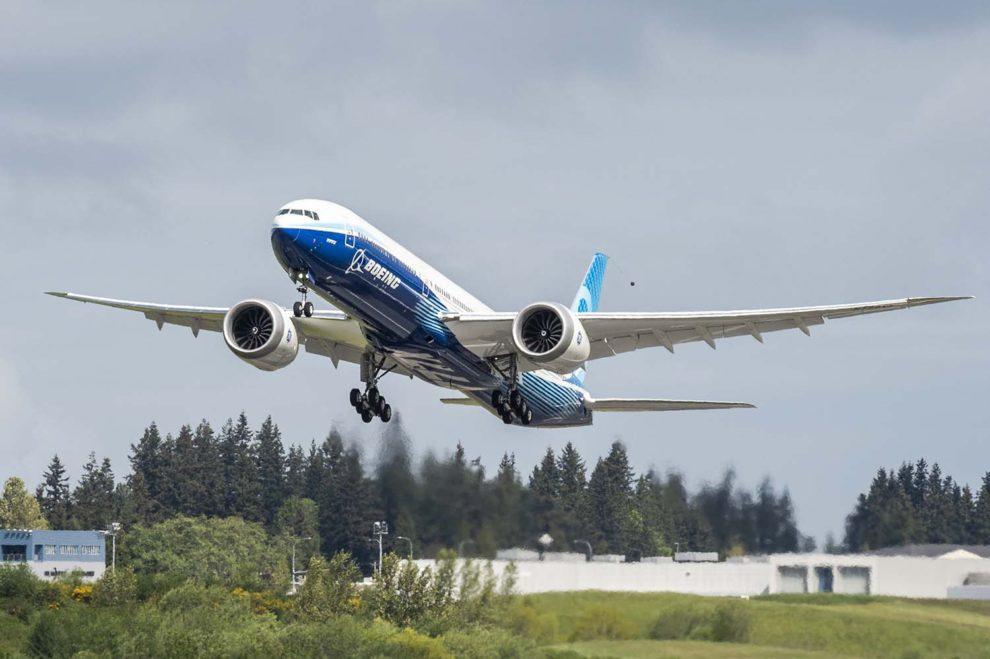 Noticias de aviones. Noticias de aviación. Segundo Boeing 777X