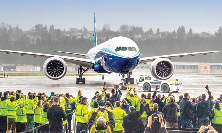Noticias de aviones. Noticias de aviación. Presentación del Boeing 777X