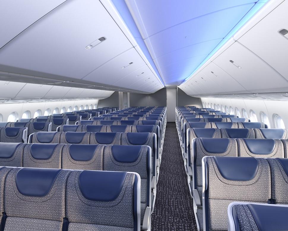 Noticias de aviones. Noticias de aviación. Cabina de un Boeing 777-9
