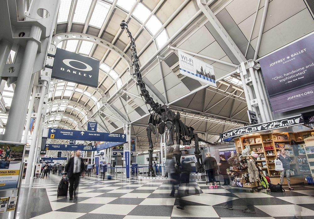 Noticias de aeropuertos. Terminal de Chicago O´Hare.